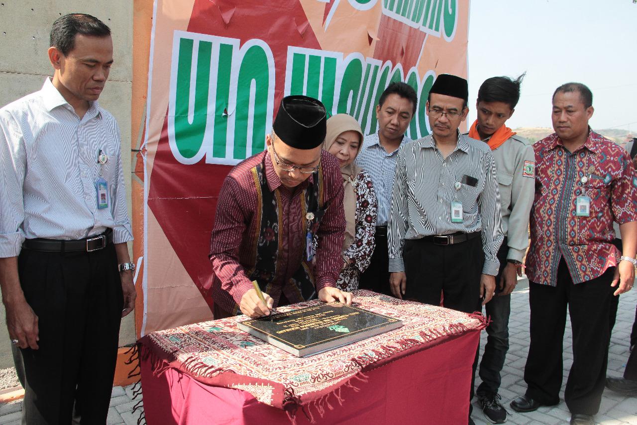 Prof Imam Taufiq Resmikan Vanue Wall Climbing Uin Walisongo Semarang Uin Walisongo